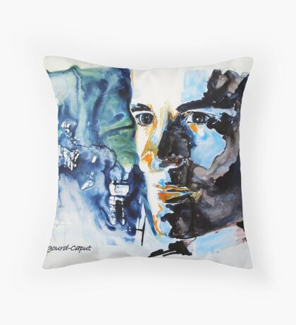 Justin Hartley Throw Pillow