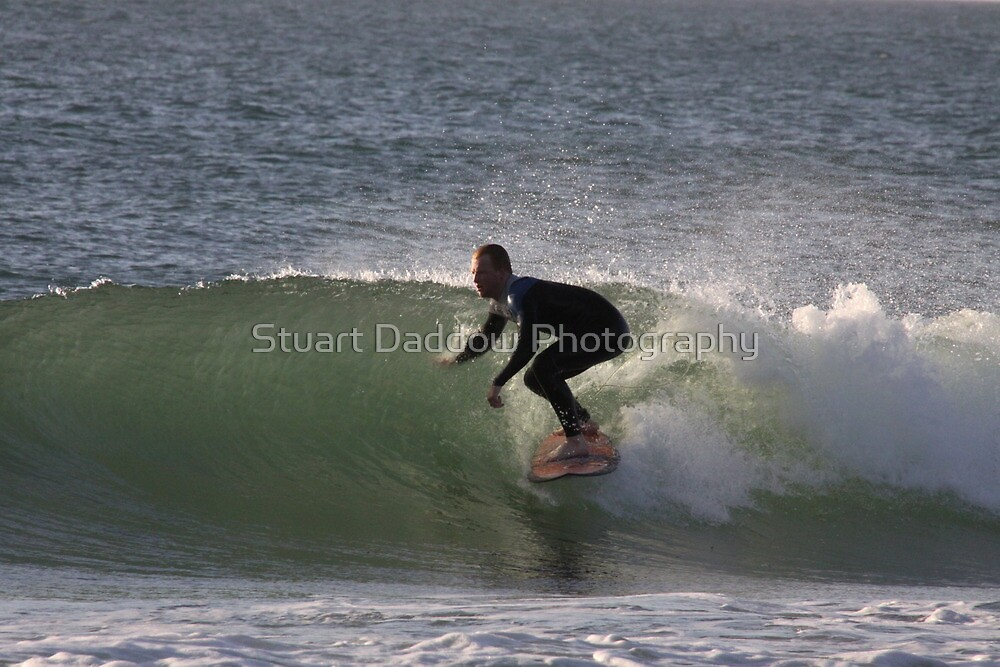 Small But Almost Perfect Wave by Stuart Daddow Photography