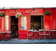Paris: Chez Marie Photographic Print