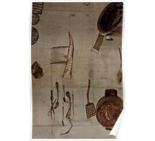 Metal objects from waste Poster