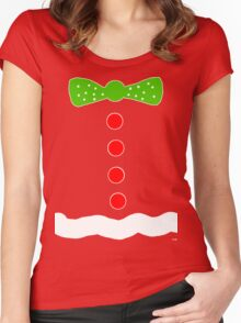 Gingerbread Man Halloween costume  Women's Fitted Scoop T-Shirt
