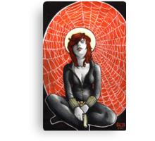 Black Widow's Web Canvas Print