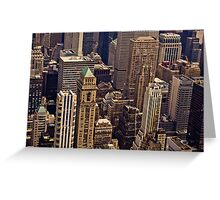 New York City Architecture Greeting Card
