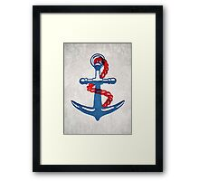 So why were you so anchorless?  Framed Print