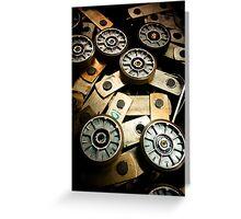 Gears [ iPad / iPod / iPhone Case ] Greeting Card