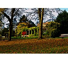 The Sun Pavilion in Autumn Photographic Print