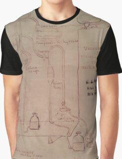 Thomas Edison Notes Graphic T-Shirt