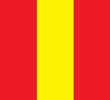 Spain Flag Phone Cover by Matt Burgess