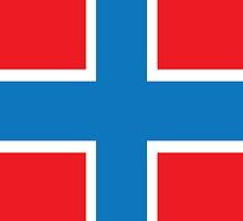 Norway Flag Phone Cover by Matt Burgess