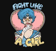 Sailor Moon- Fight Like a Girl (Sailor Mercury) Unisex T-Shirt