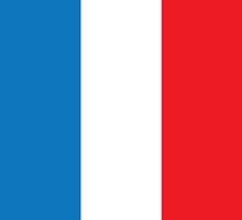 France Flag Phone Cover by Matt Burgess