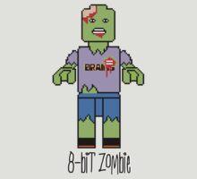8-Bit Lego Zombie by Ben Sloma