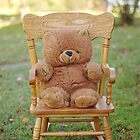 rocking teddy by Penny Rinker