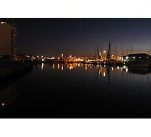 Ipswich Wet Dock, Suffolk Photographic Print