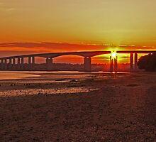 Orwell Bridge, Ipswich by Eddienable