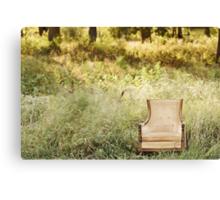 Enchanting Chair Canvas Print