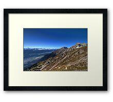 Hafelekar & Seegrube Framed Print
