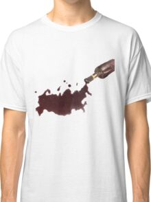Wine Map Of Russia Classic T-Shirt