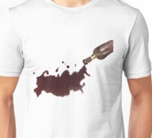 Wine Map Of Russia Unisex T-Shirt