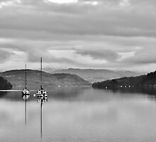 Lake Windermere on a still day by sirfrancis