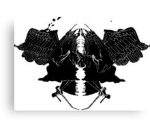 InkBlot Witches Canvas Print