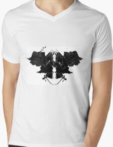 InkBlot Witches Mens V-Neck T-Shirt