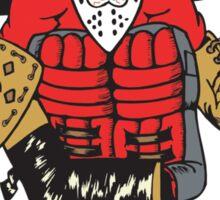 Funny Hockey Goalie Sticker
