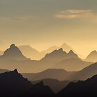 Evening Hues of the Säntis by Prasad