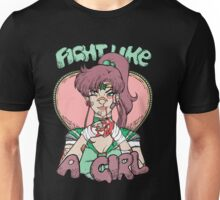 Sailor Moon- Fight Like a Girl (Sailor Jupiter) Unisex T-Shirt