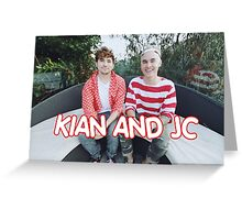 Kian and Jc Red Greeting Card