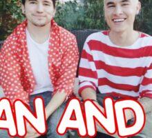 Kian and Jc Red Sticker