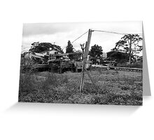 Untitled (Rural V) Greeting Card