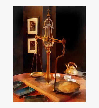 Tea Scale Photographic Print