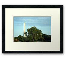Mother Nature Loves Washington Framed Print