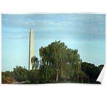 Mother Nature Loves Washington Poster