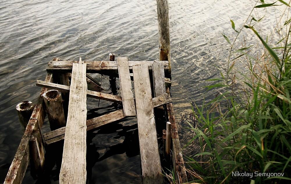 old deck by Nikolay Semyonov