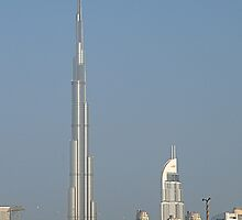 Burj Khalifa from Maydan by Ian Mitchell