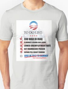 Obama Accomplishments Tee T-Shirt
