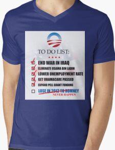 Obama Accomplishments Tee Mens V-Neck T-Shirt