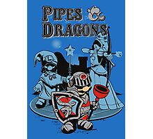 PIPES & DRAGONS Photographic Print