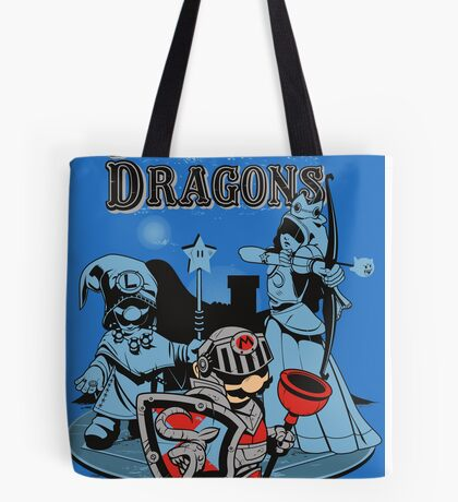 PIPES & DRAGONS Tote Bag