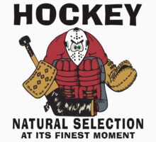 Funny Hockey Player by SportsT-Shirts