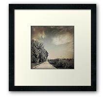 Flint Hills - Kansas Framed Print