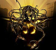Steampunk Medusa by michtpicht