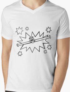 Pajama Sam Rod Mens V-Neck T-Shirt