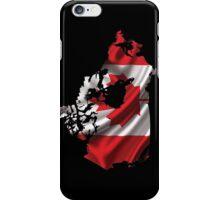Canada Flag Map iPhone Case/Skin