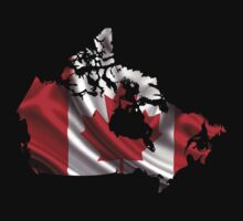 Canada Flag Map Kids Clothes