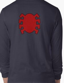 Spider-Man logo back Long Sleeve T-Shirt