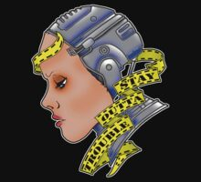 Robogirl by Psychobilly-Tee