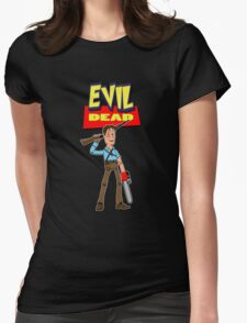 Evil Story Womens Fitted T-Shirt